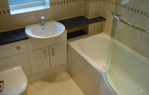 Bathrooms - Apex Building Services