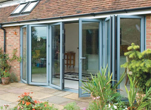 Bi-fold-doors - Apex Building Services